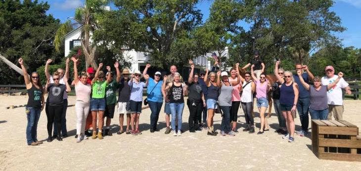 volunteer group shot august